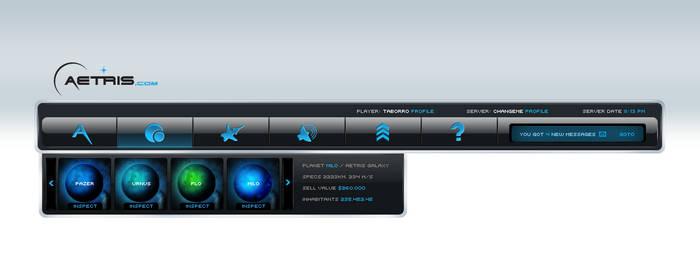 Aetris online game header