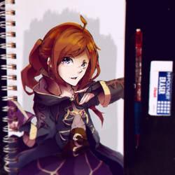 Aerilyn (Fire Emblem: Awakening OC) by Silver-Artemis-Moon