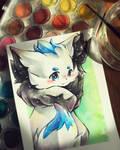Art Trade Kawitekew! by Silver-Artemis-Moon
