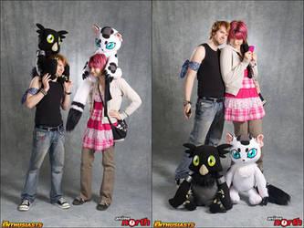 Digimon Reboot Cosplay by xuza