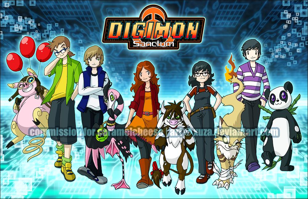 COMM: Digimon Sanctum by xuza