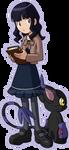 TDA - Morgan and BlackGatomon by xuza