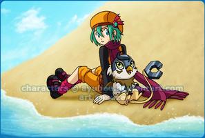 Prize - Beachside by xuza