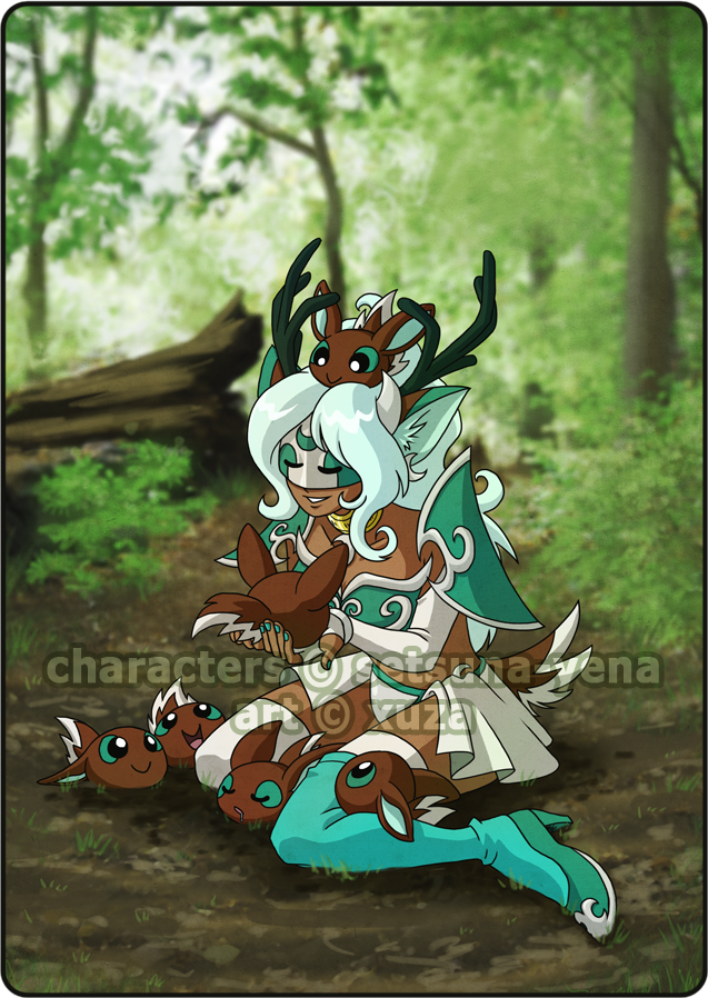 Prize - Forest Daycare by xuza