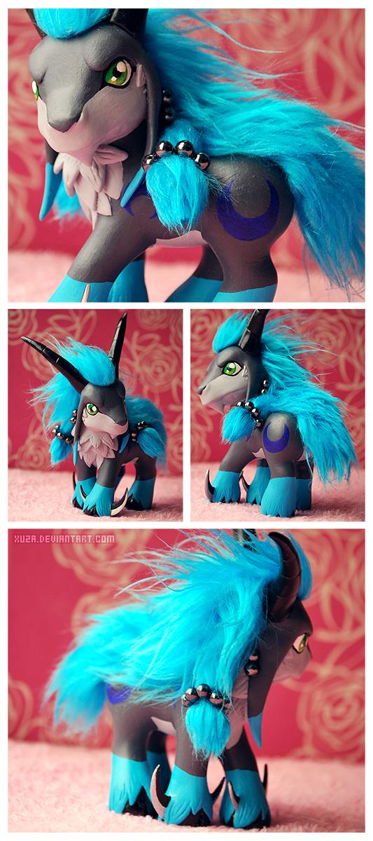 Custom Toy - Theiamon by xuza