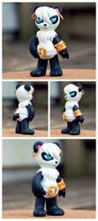 Custom Toy - Ailurmon by xuza