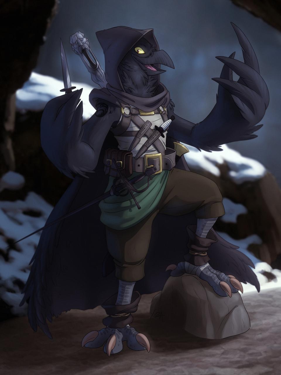 [comm] Bird Thief by xuza