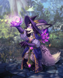 Magic Fox by xuza