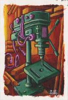 drilling machine by DavidStaege