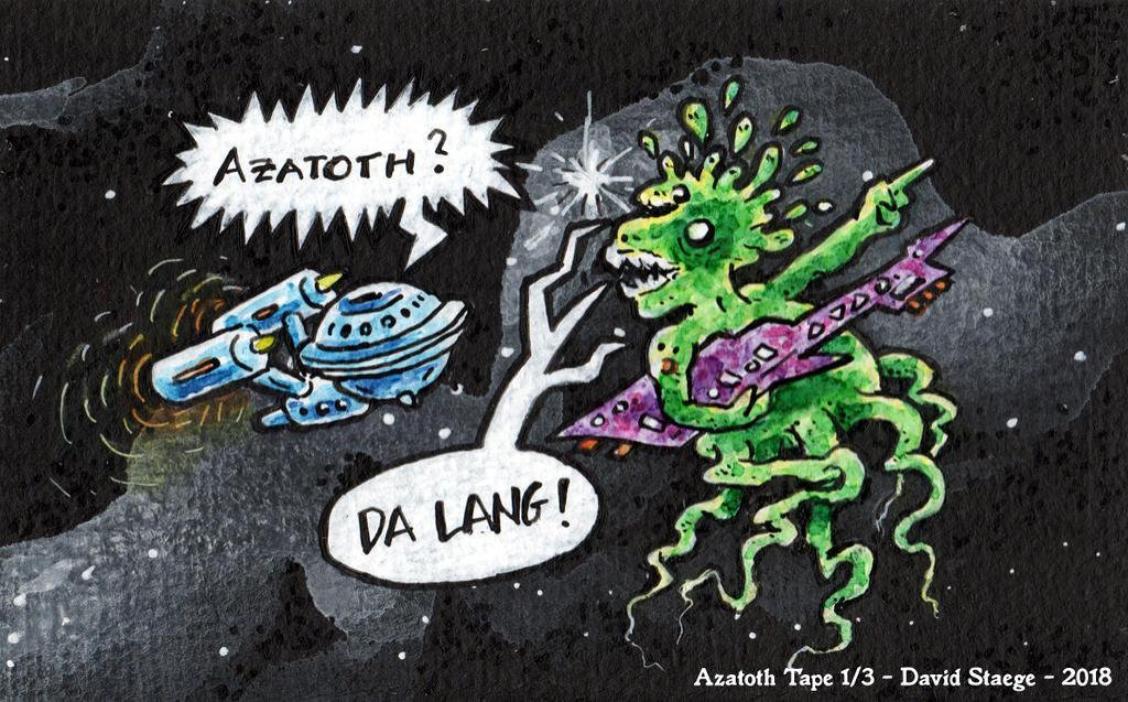 Azatoth - tape version by DavidStaege
