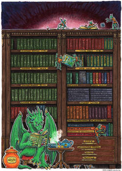 gamebook library - coloured version
