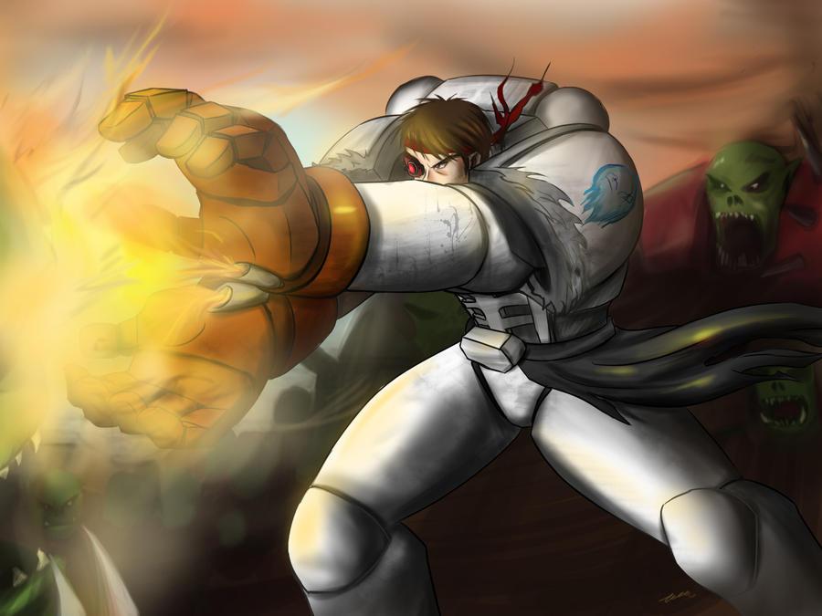 Street Fighter 40k Ryu