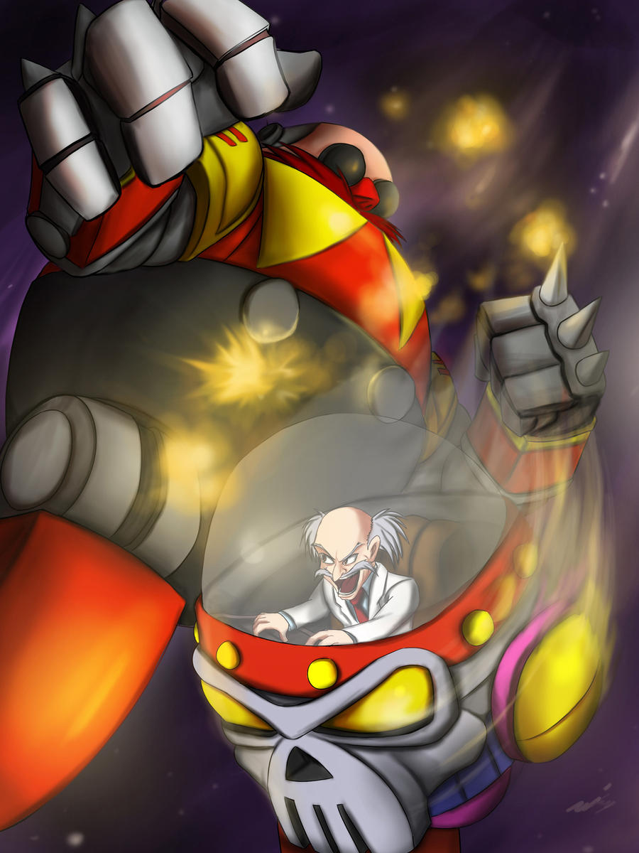 Dr Robotnik vs Dr Wily