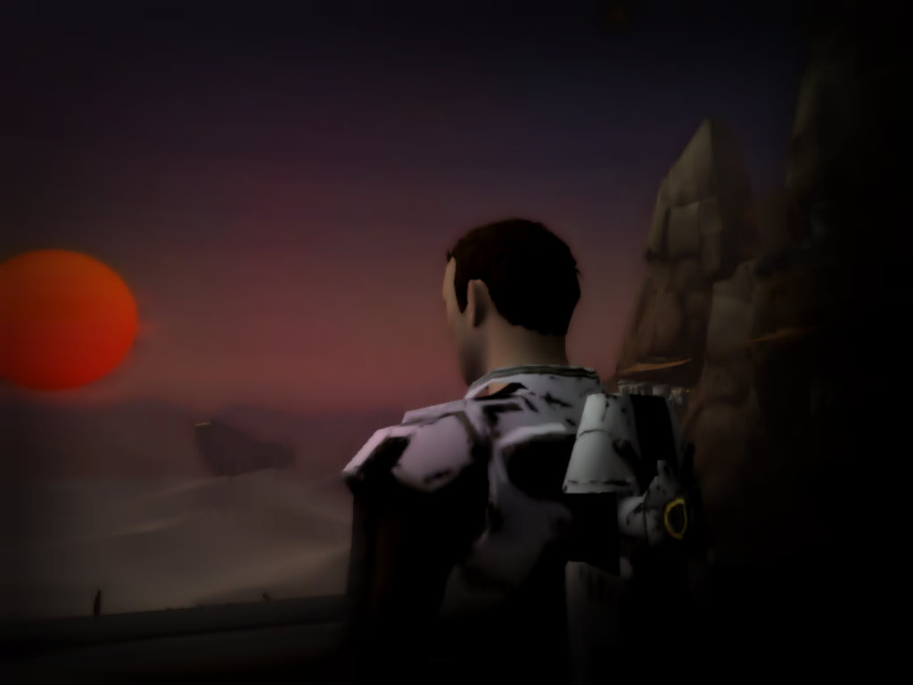 Outpost Sunset by ShadowStalker178