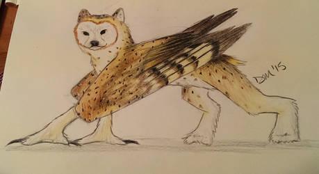 Owl Bear by ShadedMoons