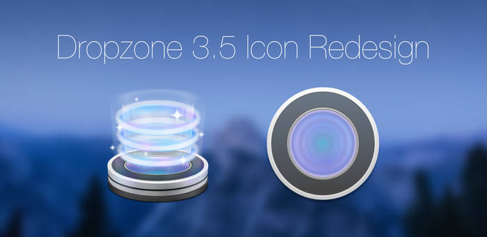 Dropzone 3.5 Icon Redesign