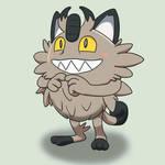 Galarian Meowth is precious