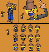 Sheriff...Still no name XD by GlaceoQuaza