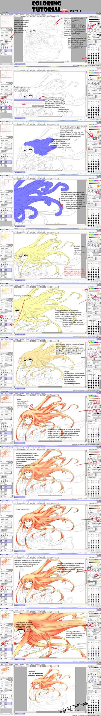 Coloring Tutorial PL - part 1 by Utau666