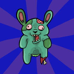 Zombie Bunny by Polysics