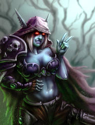 Sylvanas Windrunner by Polysics