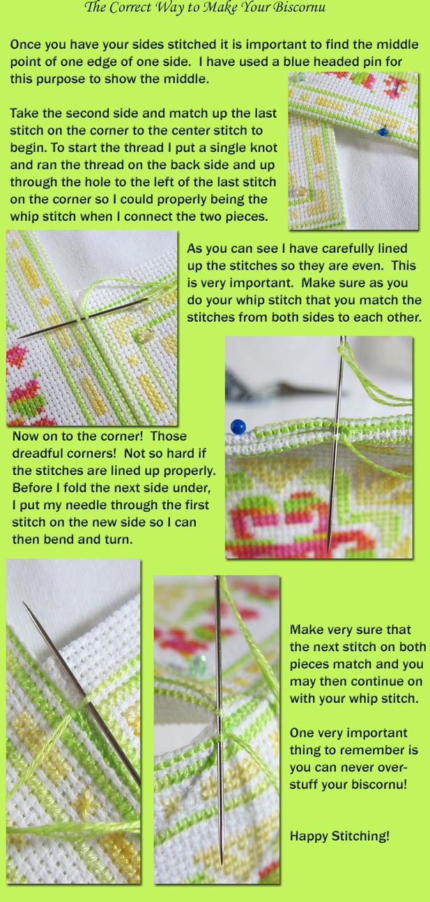 The Correct Way to Make A Biscornu Part One by Mattsma