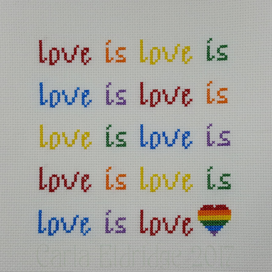 Love is Love by Mattsma