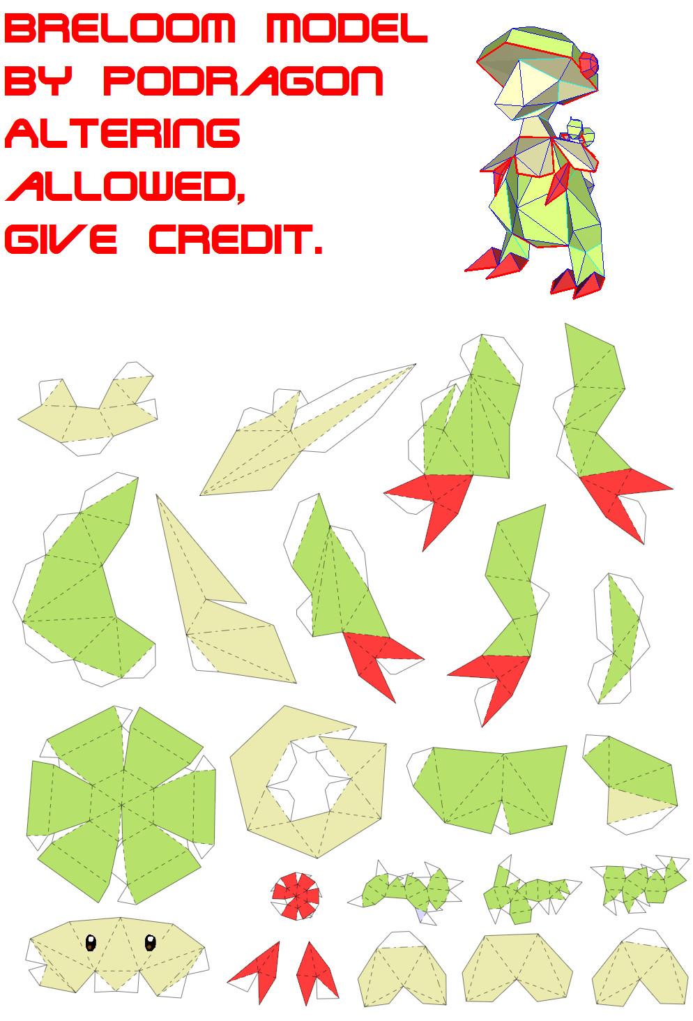 How To Make Origami Pokemon Charizard