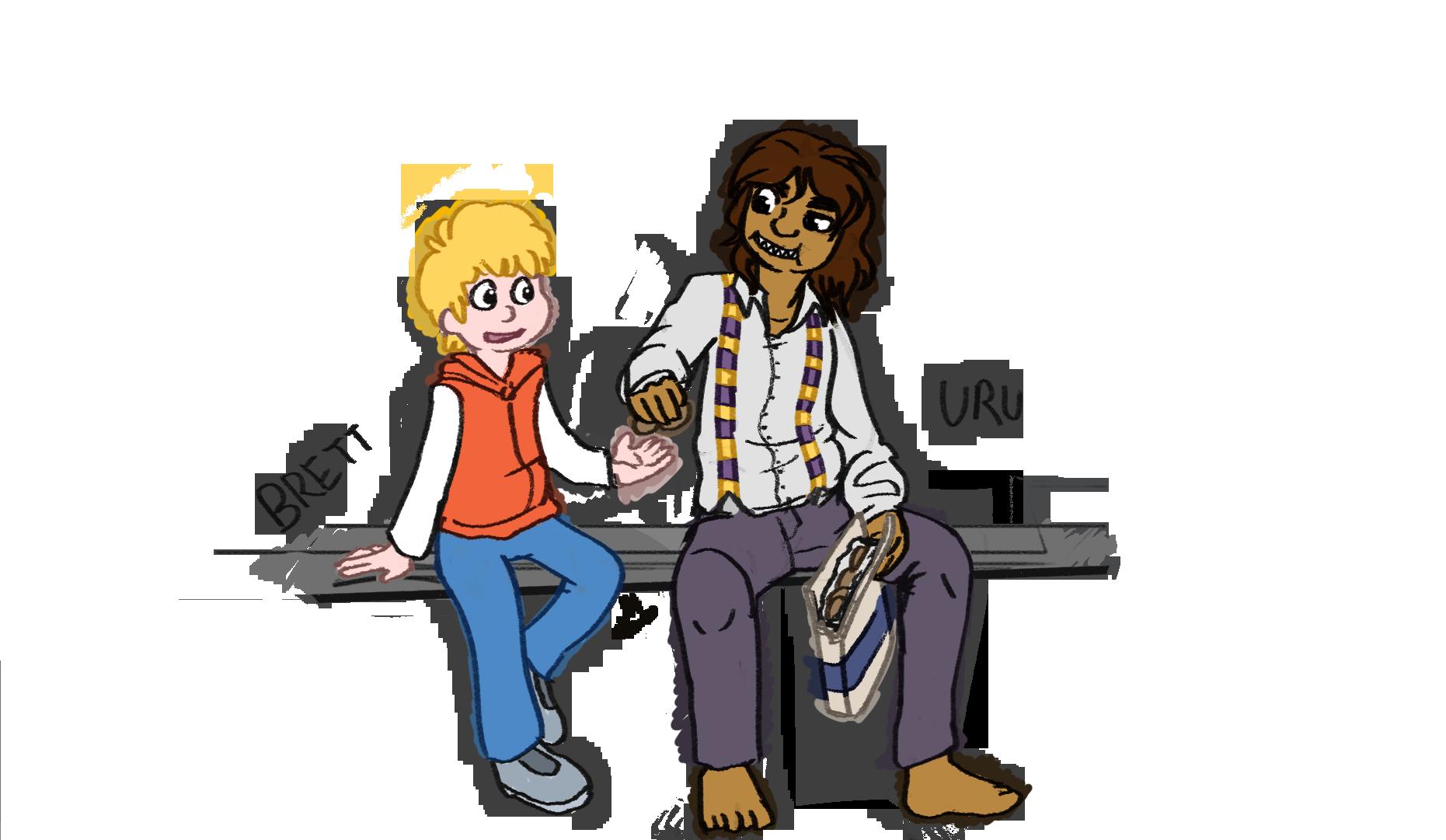 Brett and Uru