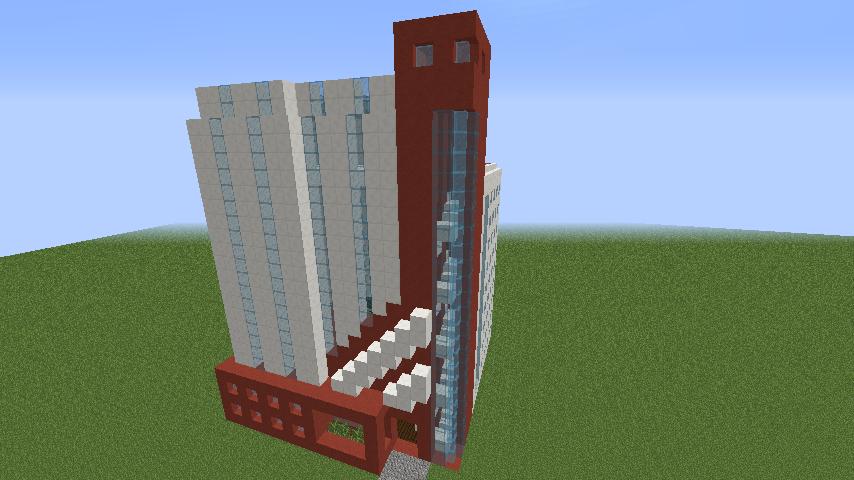 Modern minecraft office building by karenbpd on deviantart for Office design minecraft