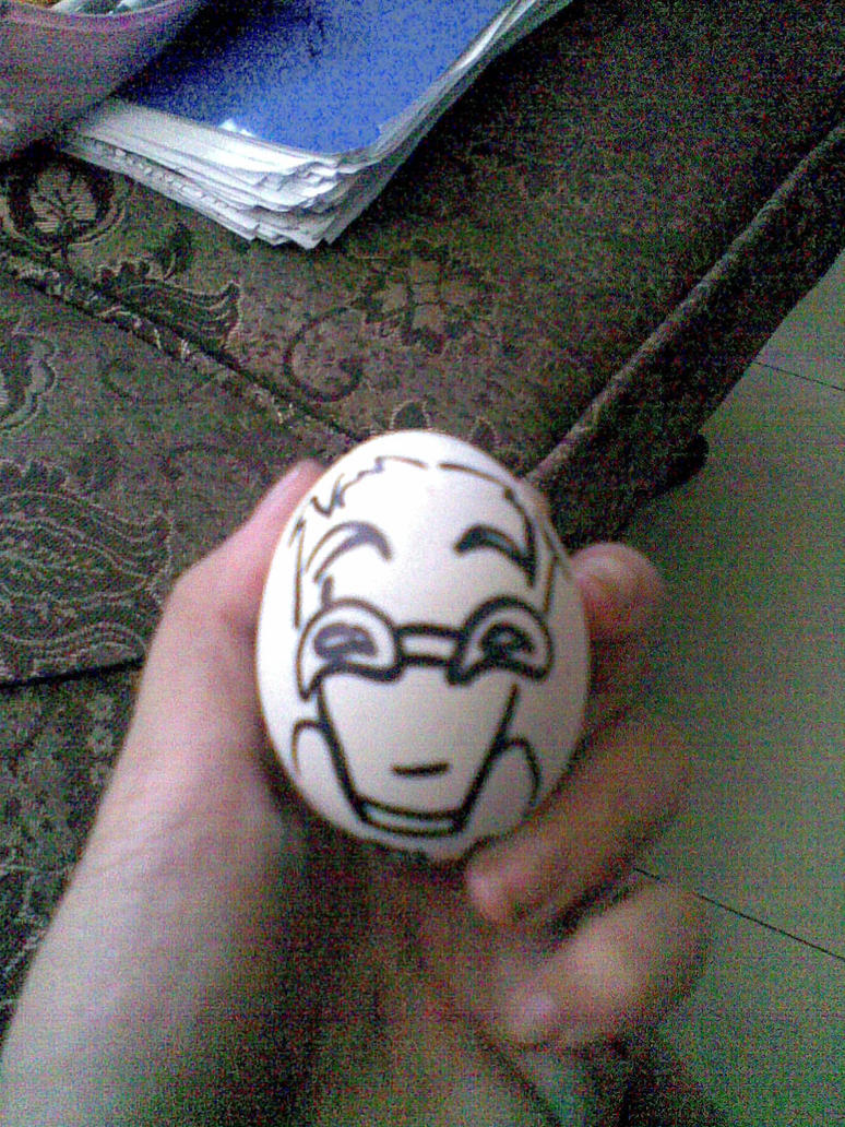 L.O.S.E. Doktor Frogg egg by theREDspy