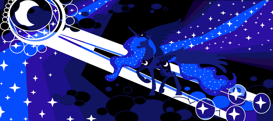 The Night Mare, Princess Luna by FoldawayWings