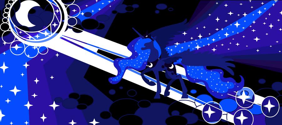 The Night Mare, Princess Luna by FoldawayWings