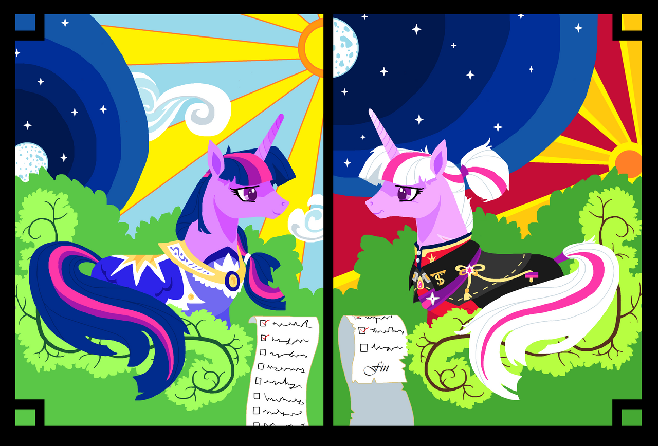 From Start to Finish, Twilight pixel pic by FoldawayWings