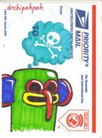 Deadhead VFDN USPS Sticker Slap by drchipohpoh