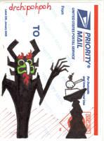 Aku vfdn usps sticker by drchipohpoh