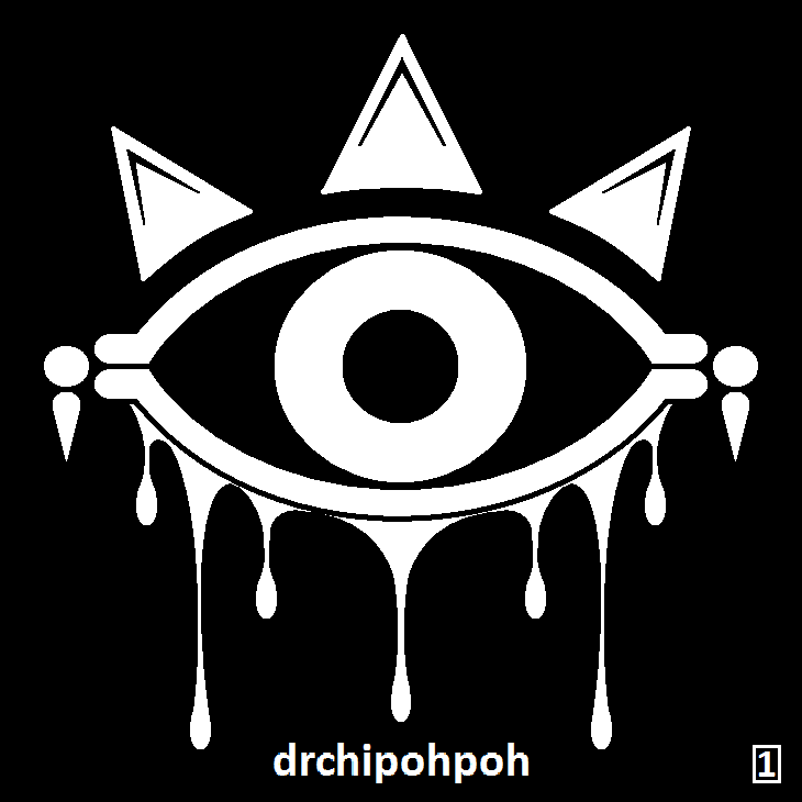 drchipohpoh Sticker Design [1] THE EYE by drchipohpoh