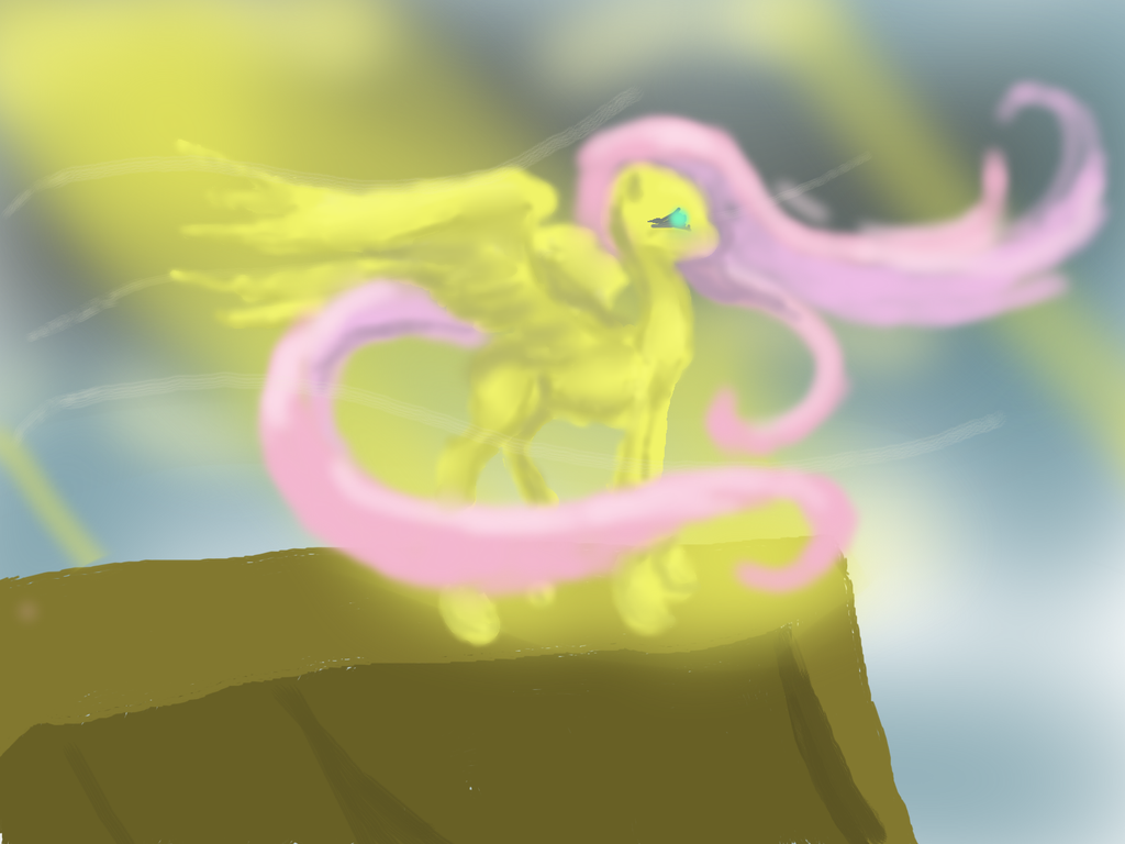 Ghost of Fluttershy by RajXenoeph