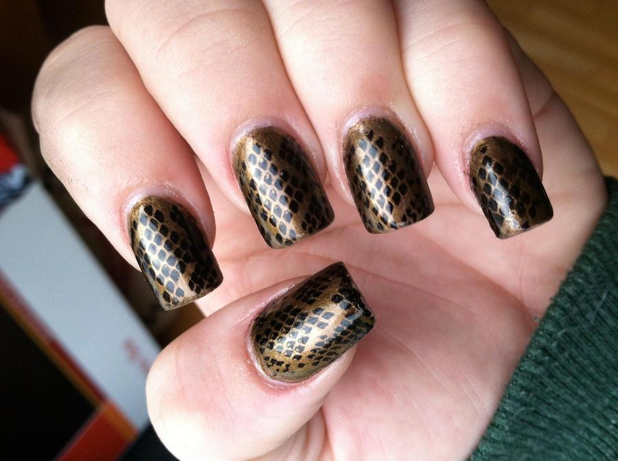 Brone Nail Design