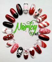 Valentines Nail Wheel by NarleysZone
