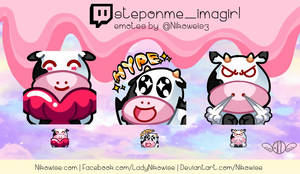 Commission- Twitch Emotes- steponme_imagirl
