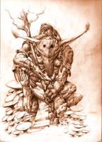 The mushroom king by Djingo