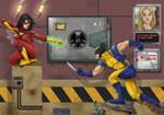 Spider-Woman vs Wolverine