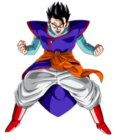 Mystic Gohan by orco05