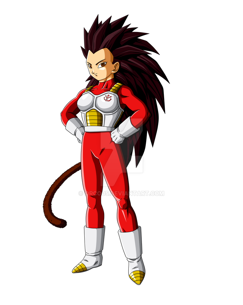Articha - Vegeta's little sister by orco05