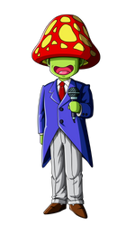 Announcer (Dragon Ball Z) by orco05
