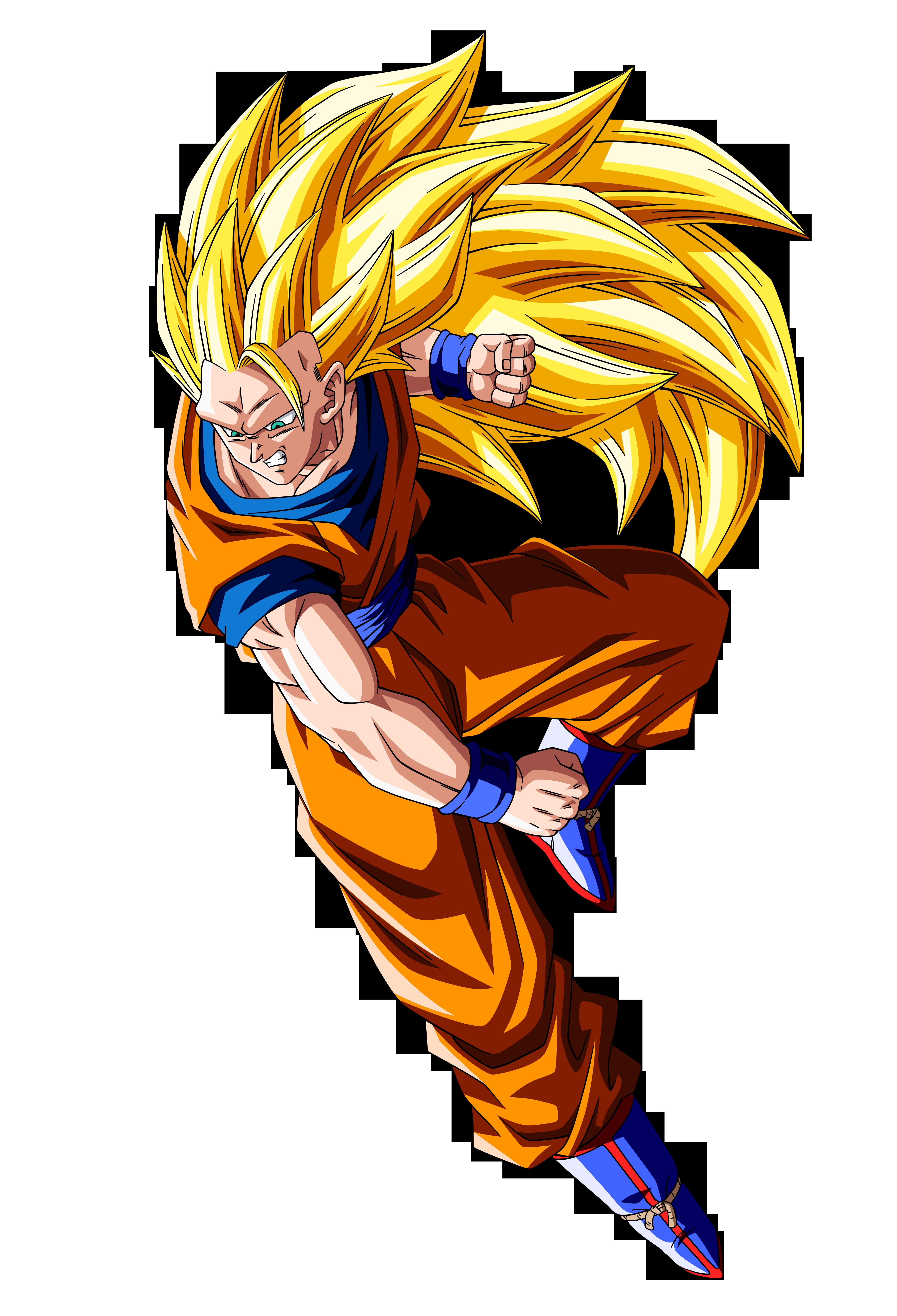 Son Goku ssj3 vs Majin Buu v.1 by orco05