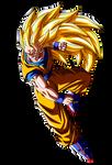 Son Goku ssj3 vs Majin Buu v.2
