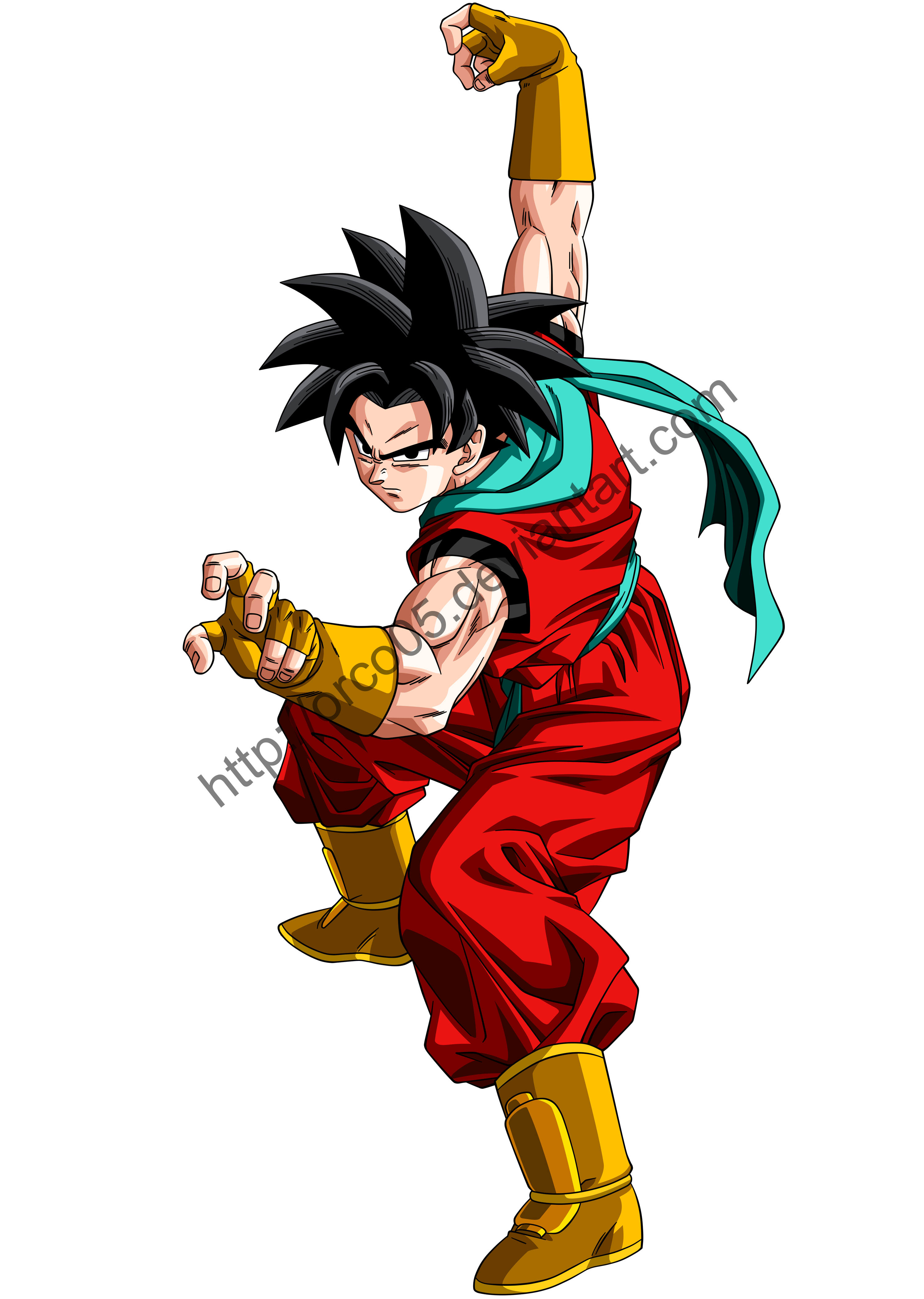 David - Dragon Ball Z OC - v.2 by orco05