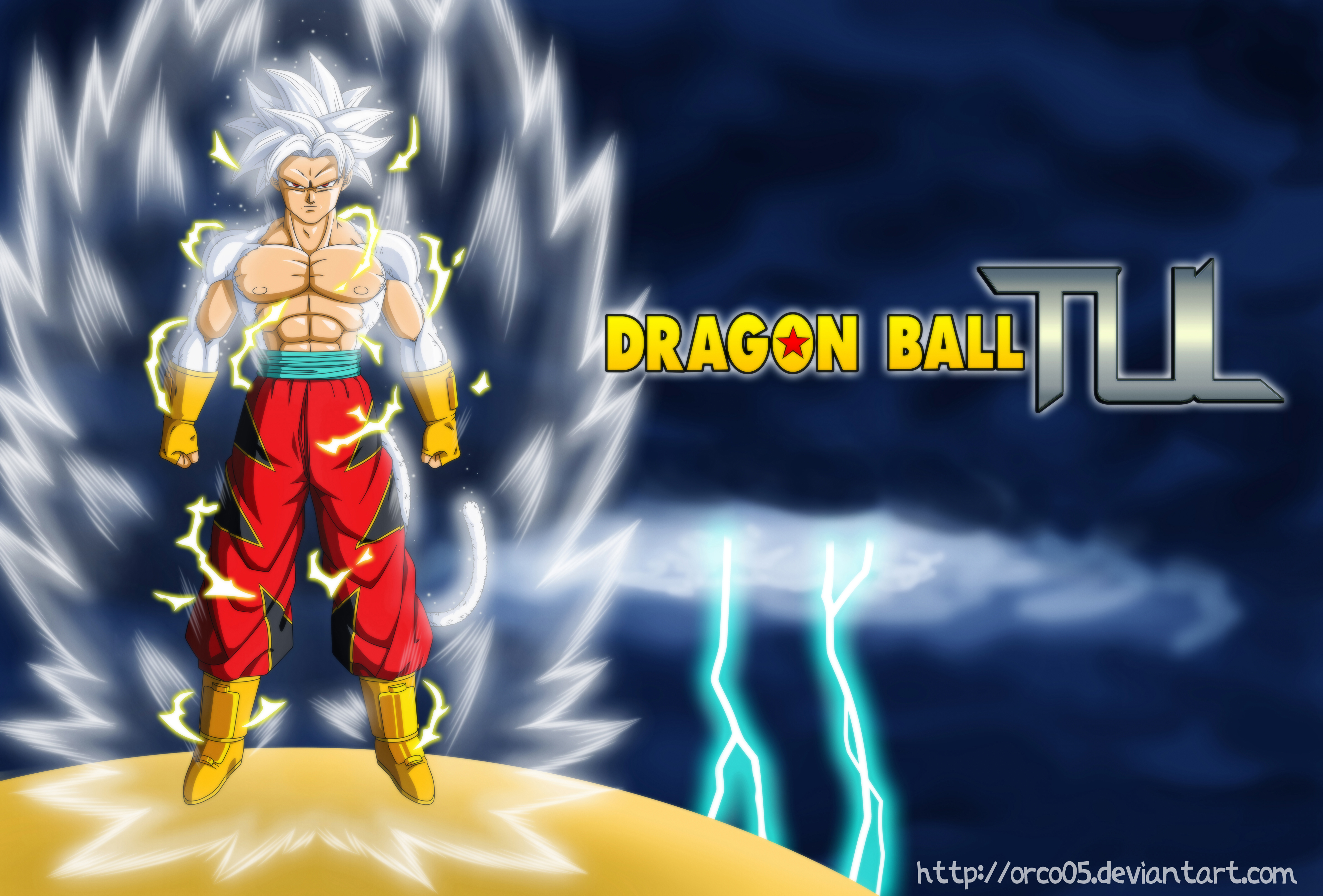 Super Saiyan God David by orco05